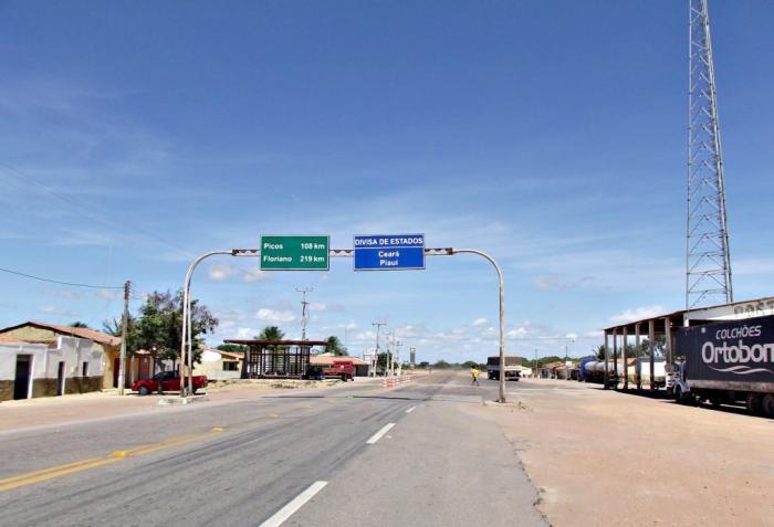 Ministério recupera oito trechos de BRs que cortam o Piauí