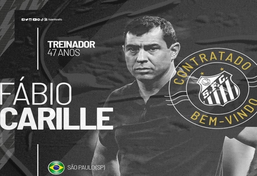 Santos anuncia o técnico Fábio Carille