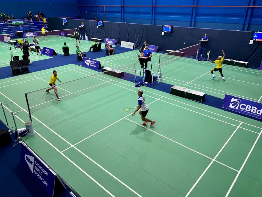 Ginásio de Badminton da UFPI sedia até domingo (12) o torneio Brasil Internacional Series 2021
