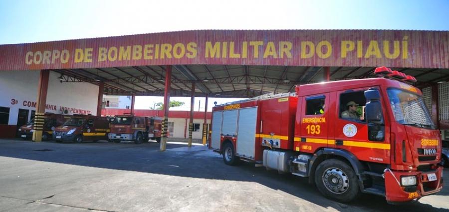 Governador anuncia concurso para Corpo de Bombeiros do Piauí