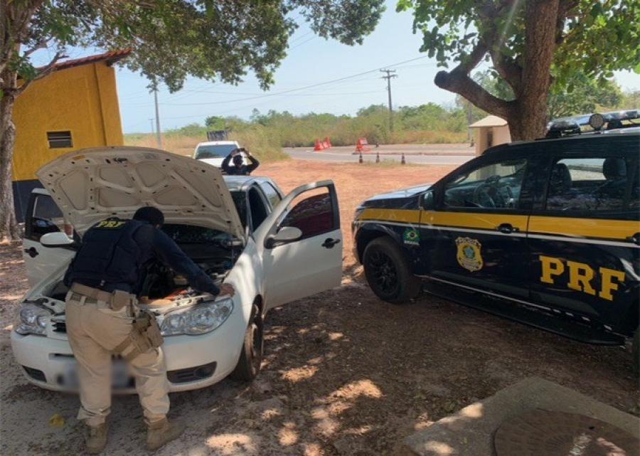 Homem é preso acusado de Receptação de Veículo