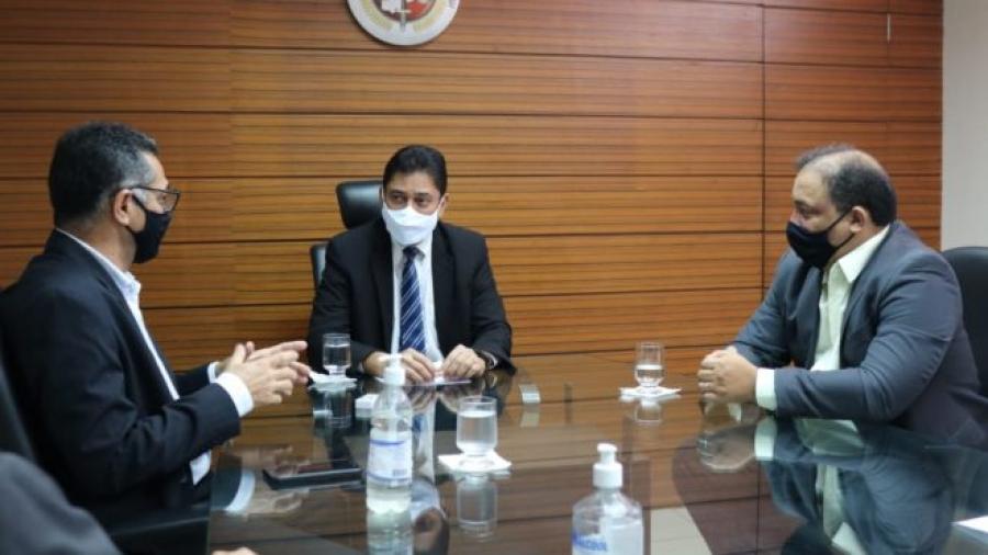 Procurador e cúpula da Segurança discutem o combate à criminalidade no Piauí