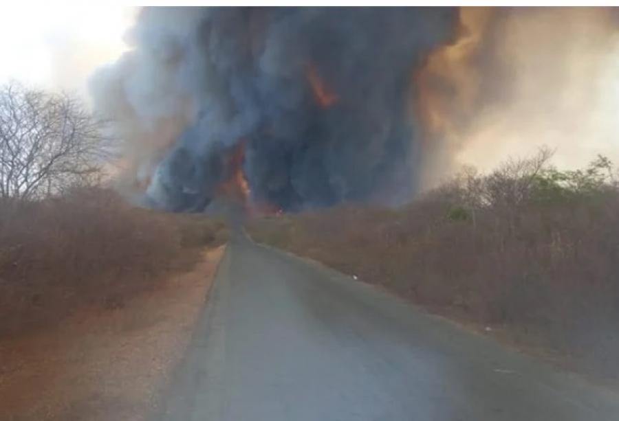Cidade do Piauí pede ajuda do Corpo de Bombeiros para combater incêndios