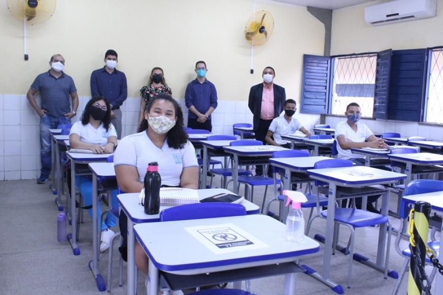 Prefeitura autoriza retorno das aulas presenciais na Rede Municipal de Ensino