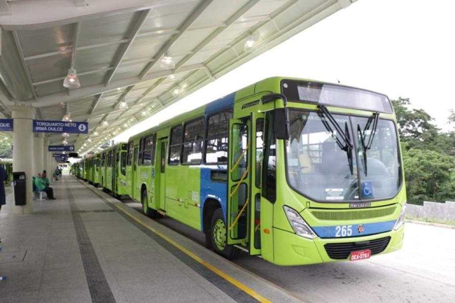 Transporte Público de Teresina tem aumento na frota de ônibus após ajustes da STRANS