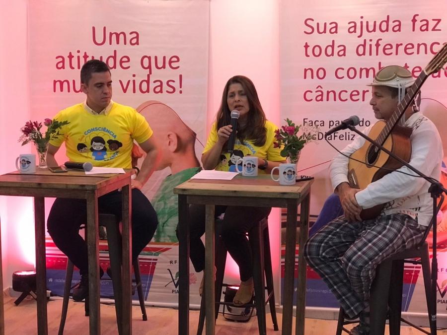 RFCC-PI realiza live de lançamento da campanha McDia Feliz 2021 com atração musical