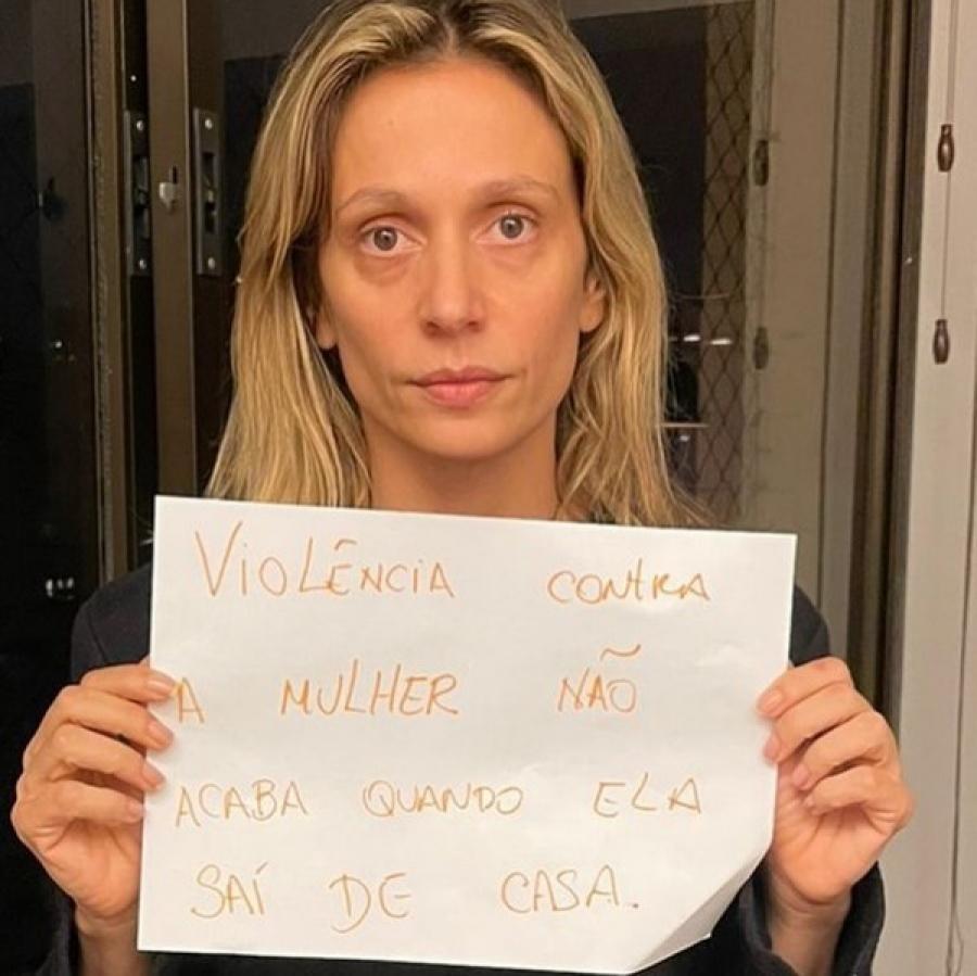 Luisa Mell pede prisão do ex-marido