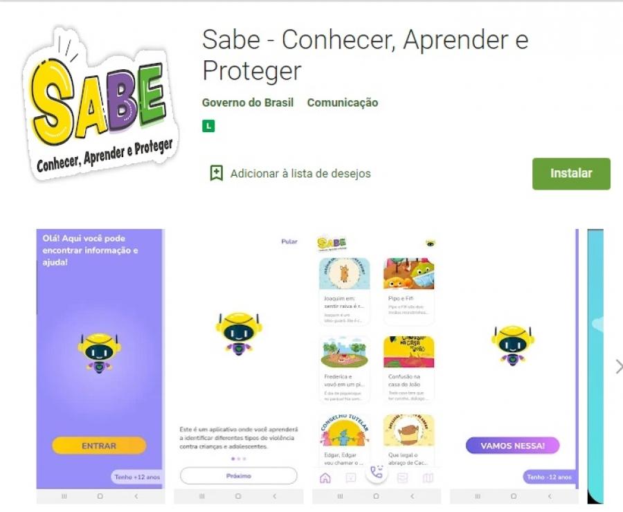 Aplicativo vai ajudar crianças e adolescentes a denunciar violências